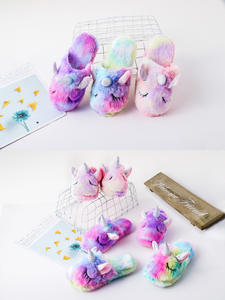SUnicorn Slippers Sho...