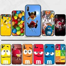 Милый чехол для телефона M & M'S Chocolate Candy для iphone 5 5s 5c se 6 6s 7 8 plus x xs xr 11 pro max(Китай)