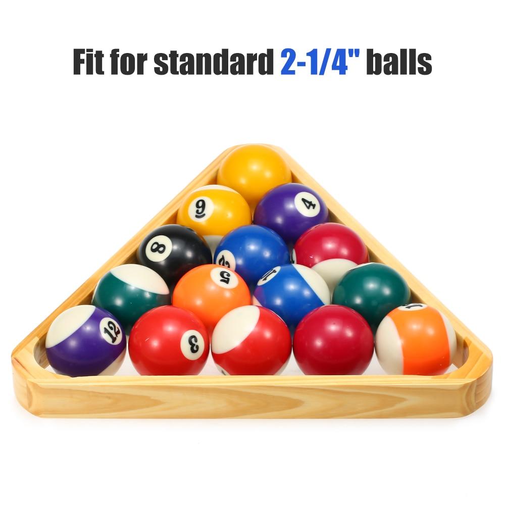 Billiard Diamond Tripod 9 Ball Frame Snooker Billiard Ball Rack Frame Ball Club