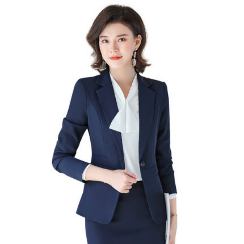 2020 Spring and Summer New Trousers Suit Female Korean Version of Professional Decoration Temperament Overalls Two-piece Suit
