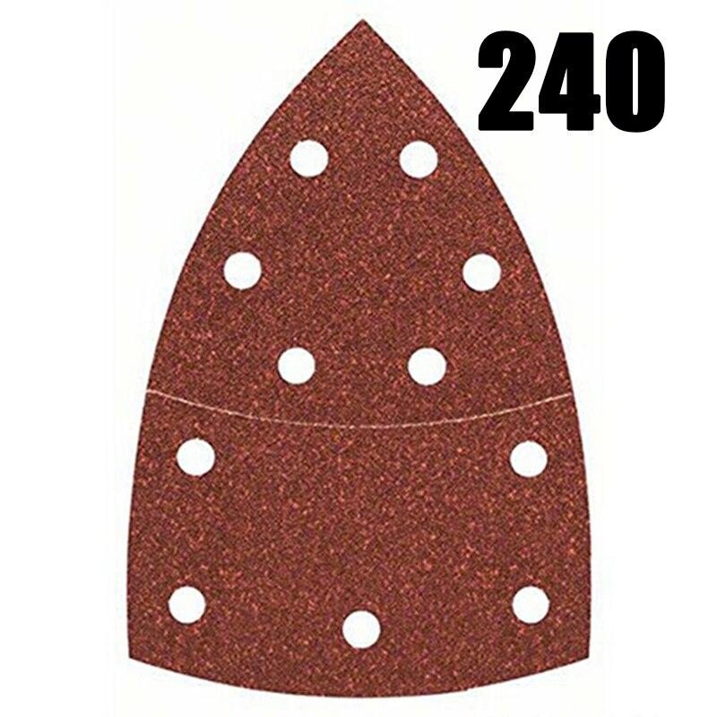 Sheets Grits 100A 40Bond Sanding Abrasive For Bosch PSM Detail Palm Sander Mixed