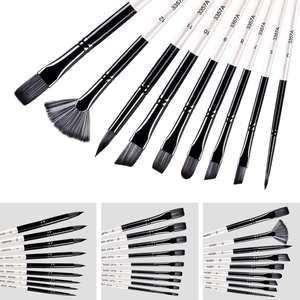 S9Pcs Paint Brushes B...