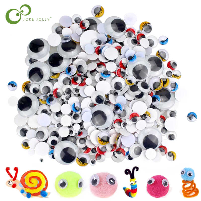 for Craft Sticker Multi Sizes 4mm to 20mm for DIY Craft Scrapbooking Decorations by ChengYi 1220pcs Googly Wiggle Eyes Self Adhesive