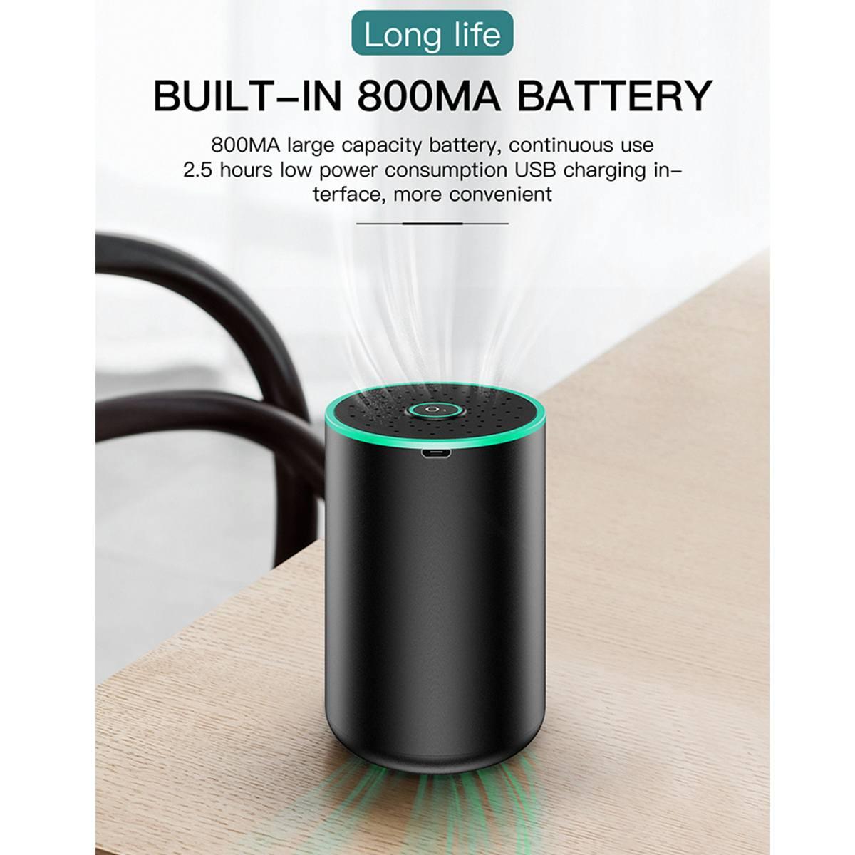 Automatic Home Car USB Air Purifier Humidifier
