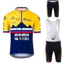Jersey-Set Champion Cycling Roglic Bicycle-Shorts Race-Suit Jumbo Visma Maillot Slovenia