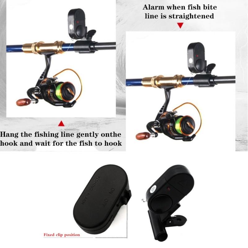 Electronic Fish Bite With LED Light, iBuyXi.com, Fishing, Fishing Electronic Alarm, Fishing Rod, Fishing Siren Indicator with LED Light