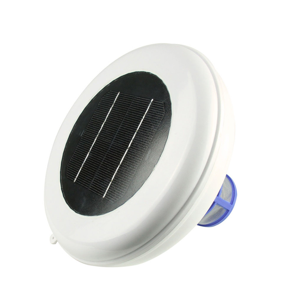 Electronics - Solar Pool-Ionizer Copper Silver Ion Swimming Pool Purifier Water Purifier Kills Algae Solar Pool Ionizer