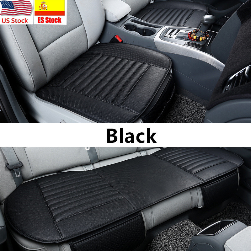 Mat Protector-Pad Car-Seat-Covers Universal Auto 4-Colors Front PU title=