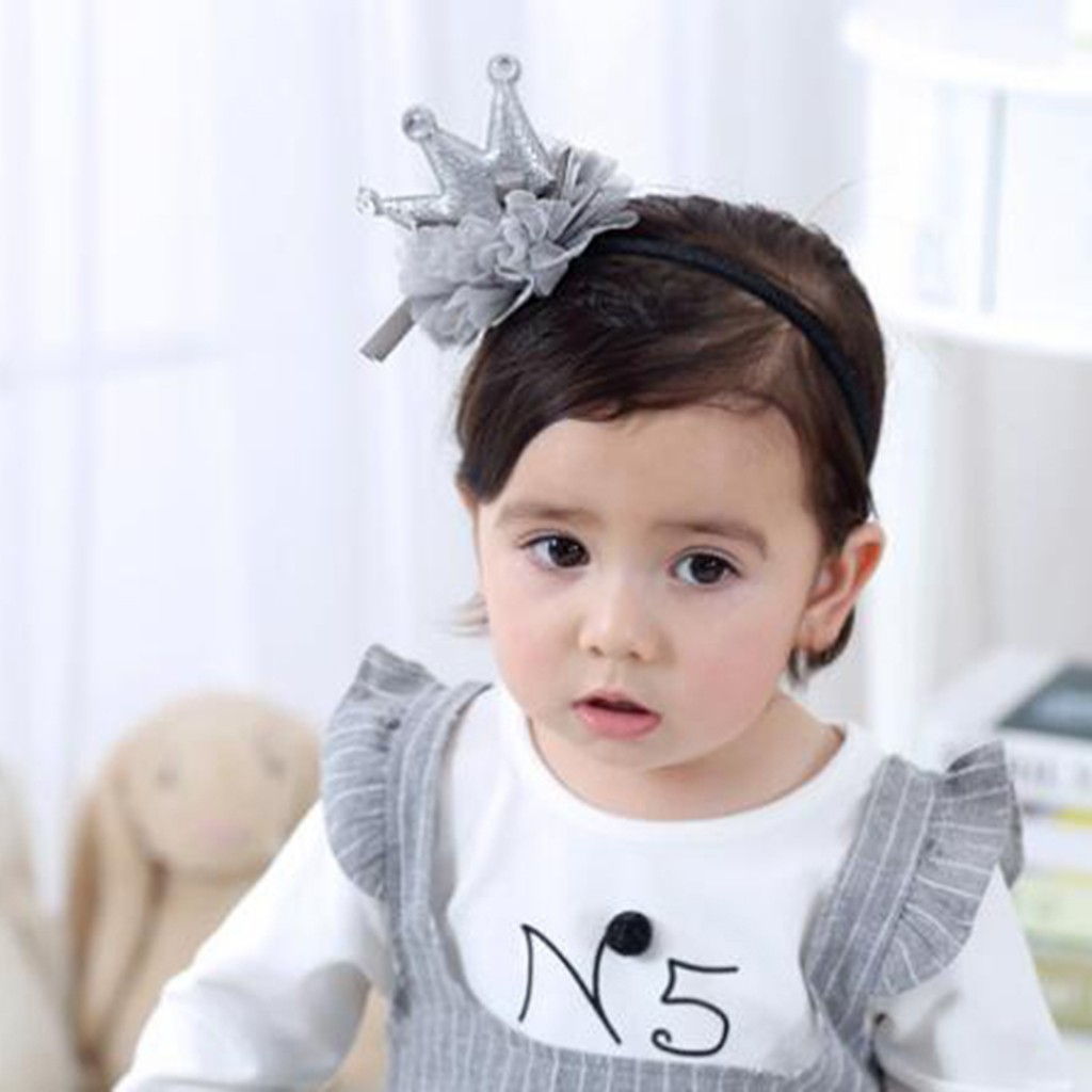 Baby Headband Little Princess Crown Cute crown hair accessory baby Beautiful Photography Props Newborn Infants Headwear
