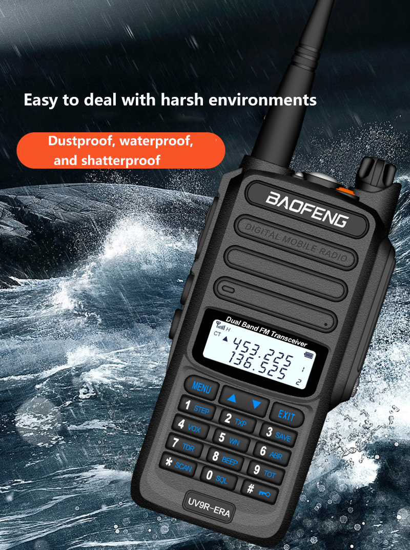 2019 BaoFeng UV-S9 Powerful Walkie Talkie CB Radio Transceiver 8W 10km Long Range Portable Radio for hunt forest city (18)