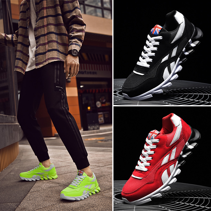 Men Sneakers Trainers Shoes Sport Breathable Running Shoes