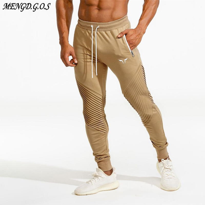 Men's Trousers Jogger Streetwear Fashion Pants Clothing Casual Brand Exercise Slim Running title=