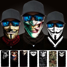 Magic Scarf Headwear Bandanas Hiking-Mask Neck-Gaiter Bike Skull-Neck Cycling Venom Fishing