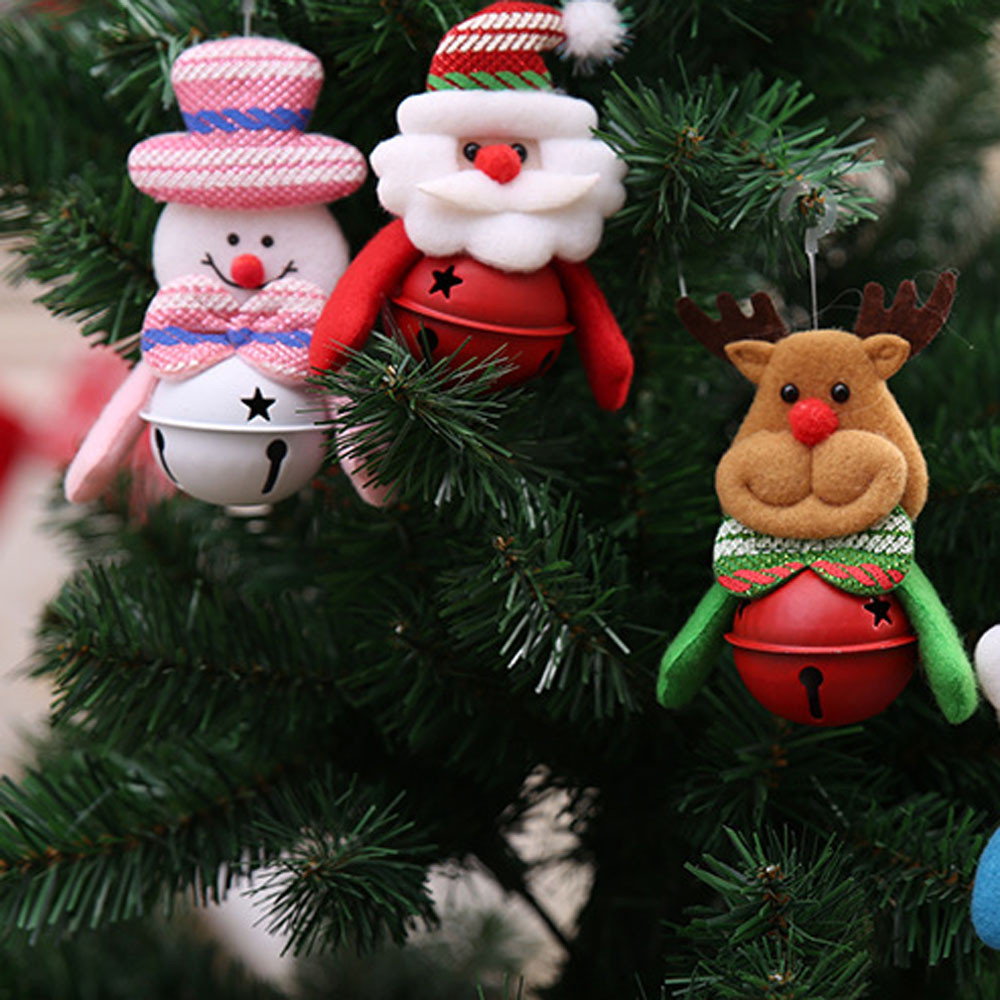 Christmas Home Furnishing Decoration Tree Ornaments Small Bell Holiday Gifts Decor Christmas Decorations For Home C20111