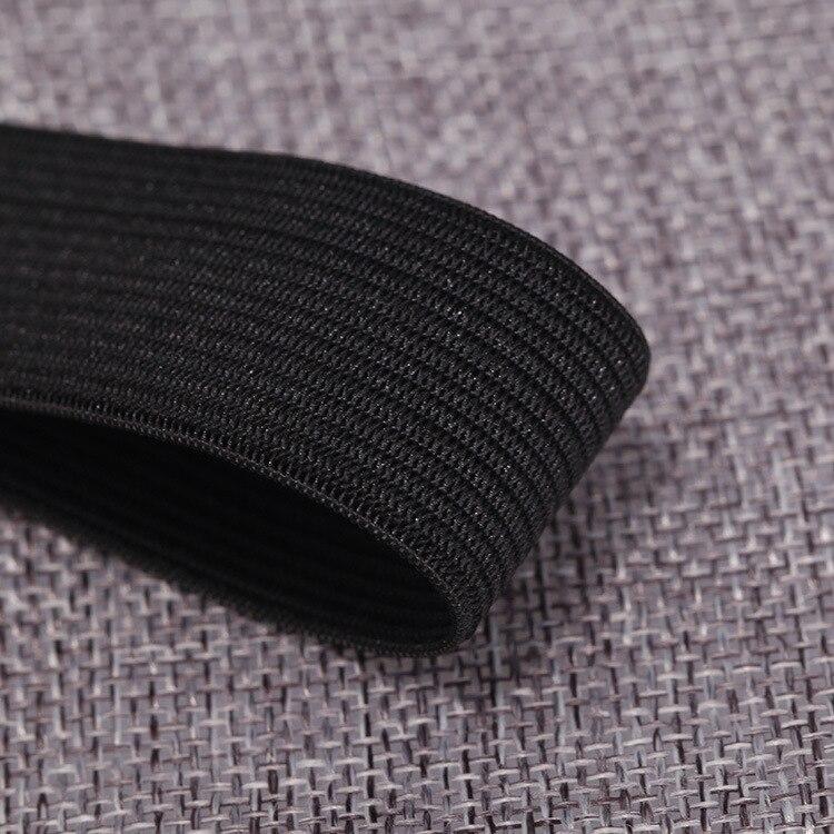 5m gummilitze goma cinta elástica schlüpfergummi 11 mm negro zugstark 0,55 €//1m