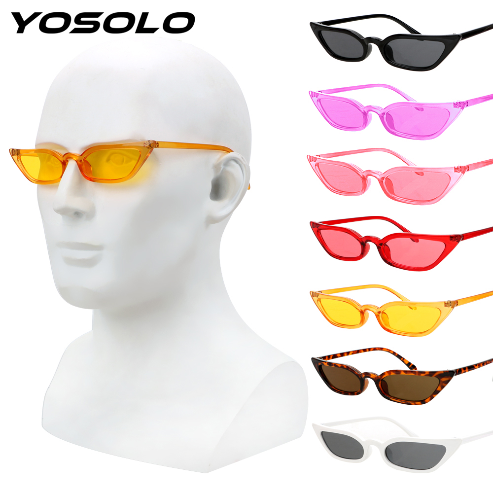 Goggles Vintage Sunglasses Eyewear Gears Riding Retro UV400 Small YOSOLO Driving Frame title=