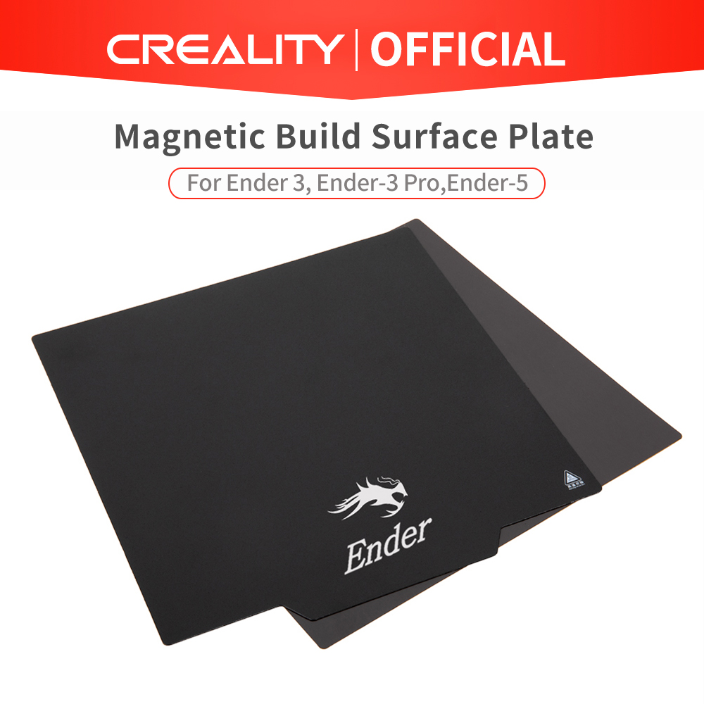 CREALITY 3D Original flexible Magnetic Build Surface Plate Pads Ender-3/Ender-3 Pro/Ender-5 Heated Bed parts for MK2 MK3 Hot bed