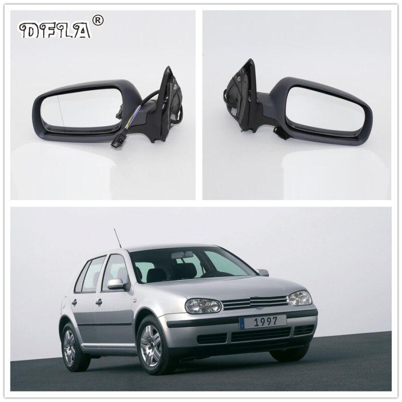 VW PASSAT B5 SALOON 1996-04  DOOR WING MIRROR GLASS LEFT HEATED
