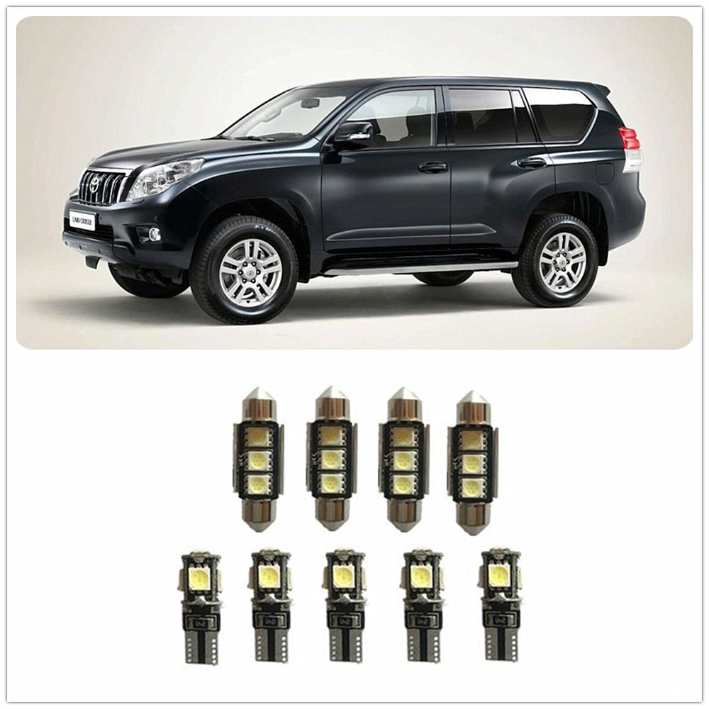 6x White LED Lights Interior Package Deal For 2009-2012 2013 2014 Toyota Matrix