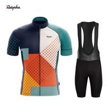 Ralvpha 2020pro cycling team Eurosport summer Cycling short sleeve bicycle race mtb Jersey Sportswear Suit Maillot Ropa Ciclismo