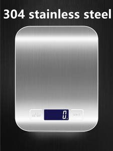 Food-Scale Measuring-Tools Weighing Digital Stainless-Steel Electronic High-Precision