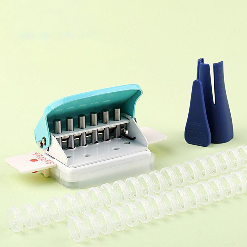 KW-trio Plastic Binder Opener for Loose Binding Spines Combs Opening /& Closing
