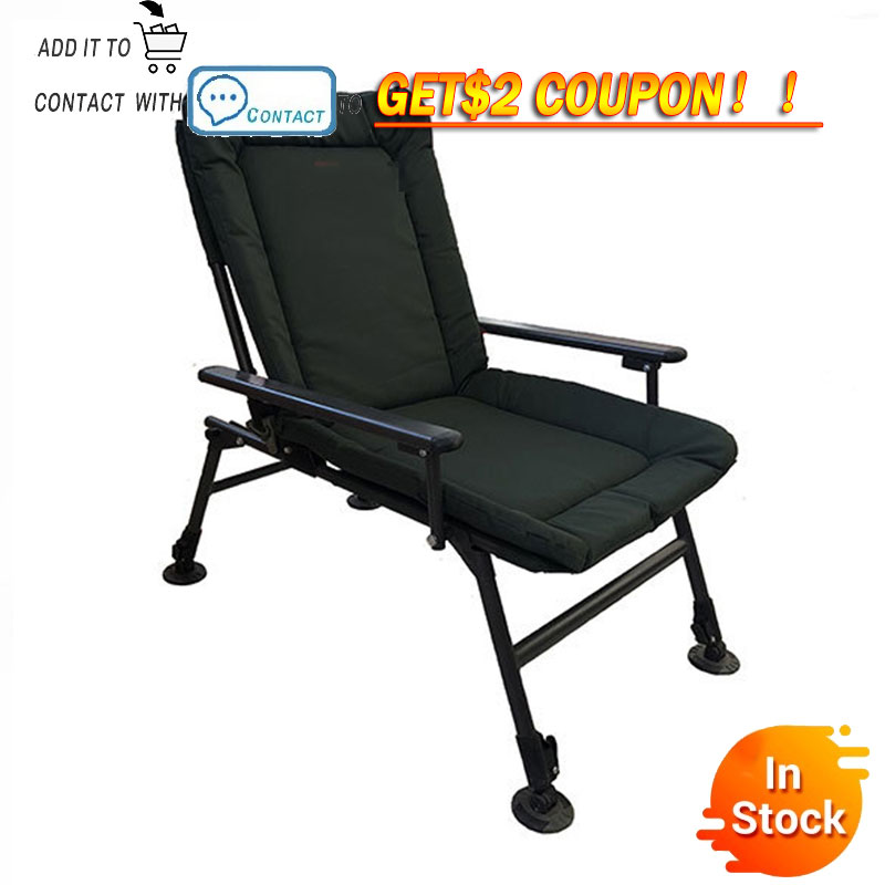 Delivery normal Beach With Bag Portable Folding Chairs Outdoor Picnic BBQ  Fishing Camping Chair Seat  Oxford Cloth Lightweight