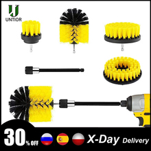 Power-Scrubber-Brush Cleaning-Set Drill-Brush-Clean Bathroom UNTIOR Extender for Kitchen-Tub