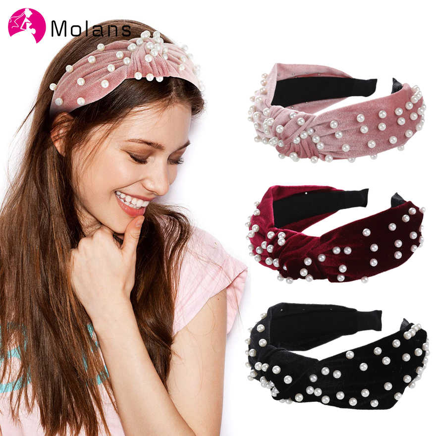 Wide Women Bow Knot Hairband Headband Hair Hoop Girl Floral Hair Accessories