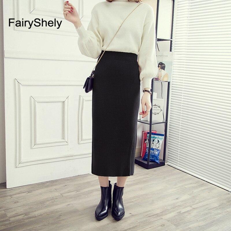 Ladies Printed Pencil Maxi Skirt Women/'s Long Office Work Elastic Skirts