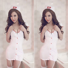 Sexy Lingerie Costume-Uniform Outfit Dress Cosplay-Suit Nurse Babydoll Mini