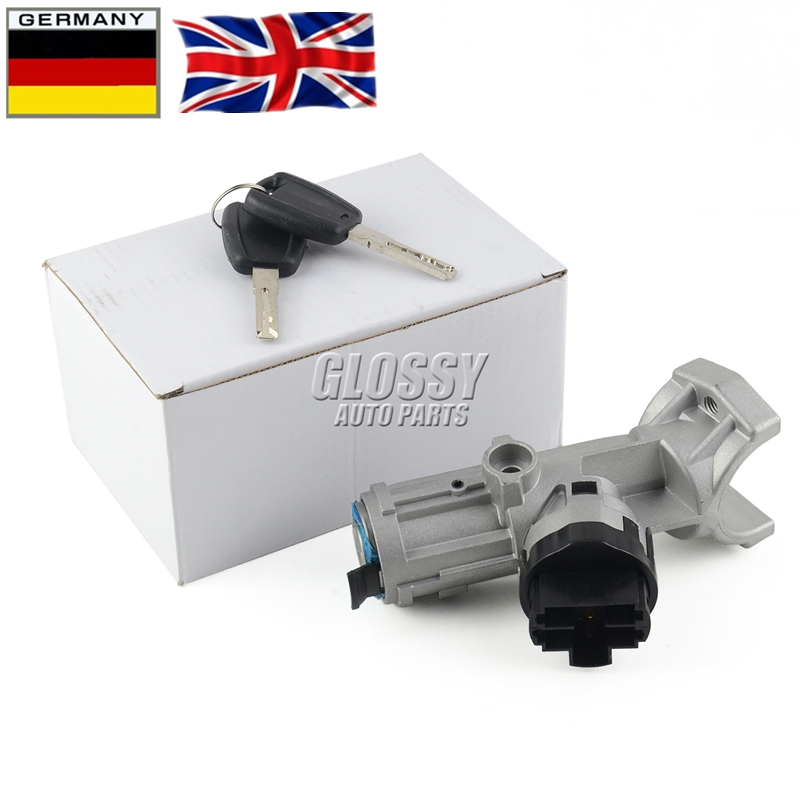 7Pins Ignition Steering Barrel Lock Switch 1329316080 For Citroen Ducato 02-06