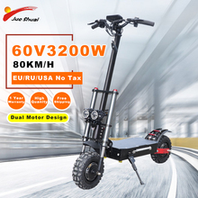 11inch Off Road Electric Scooter Adult 60V 3200W Strong powerful 2019 new Foldable Electric Bicycle fold hoverboad bike scooters