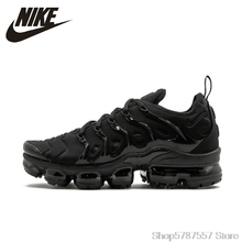 Running-Shoes Outdoor-Sneakers Air-Vapormax-Plus Nike Authentic Original Breathable Men