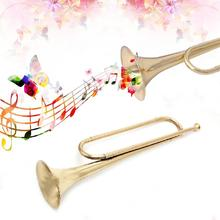 Trumpet Military Flat-Bugle New Beginner Cavalry Orchestra School-Band Retro