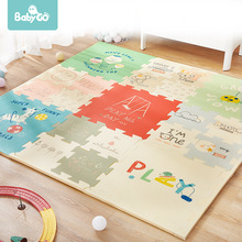 BabyGo Puzzle Baby Play Mat XPE Foam Waterproof 2cm Thickened children's Carpet Crawling Pad Living Room Activity Floor Mat