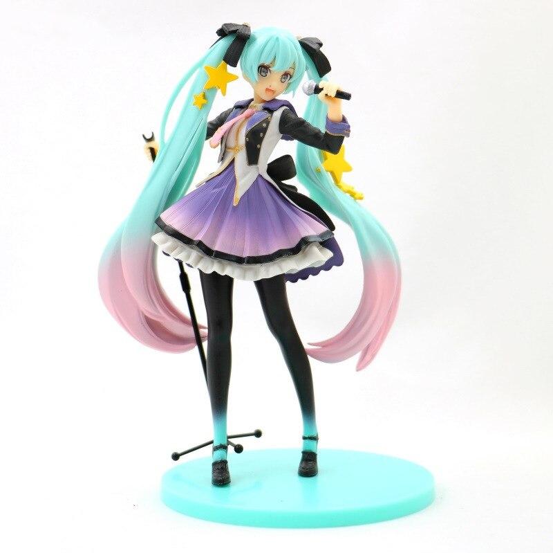 Hatsune Miku 10th Anniversary Edition PVC Miku Hatsune Figure Action Collectible Model Toy (5)