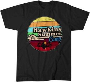 Hawkins летний лагерь странные вещи 3 Дастин 11 Футболка Мужская детская 0709 новые тренды футболка