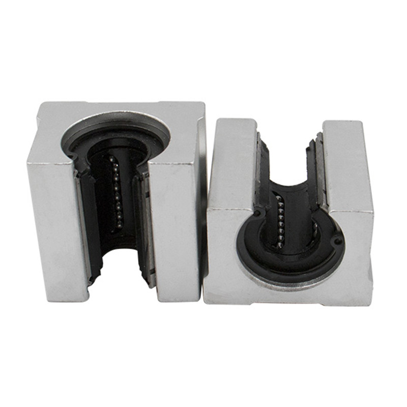 Polymer SBR20UU 20mm Low noise Linear Motion Ball Bearing Pillow Block