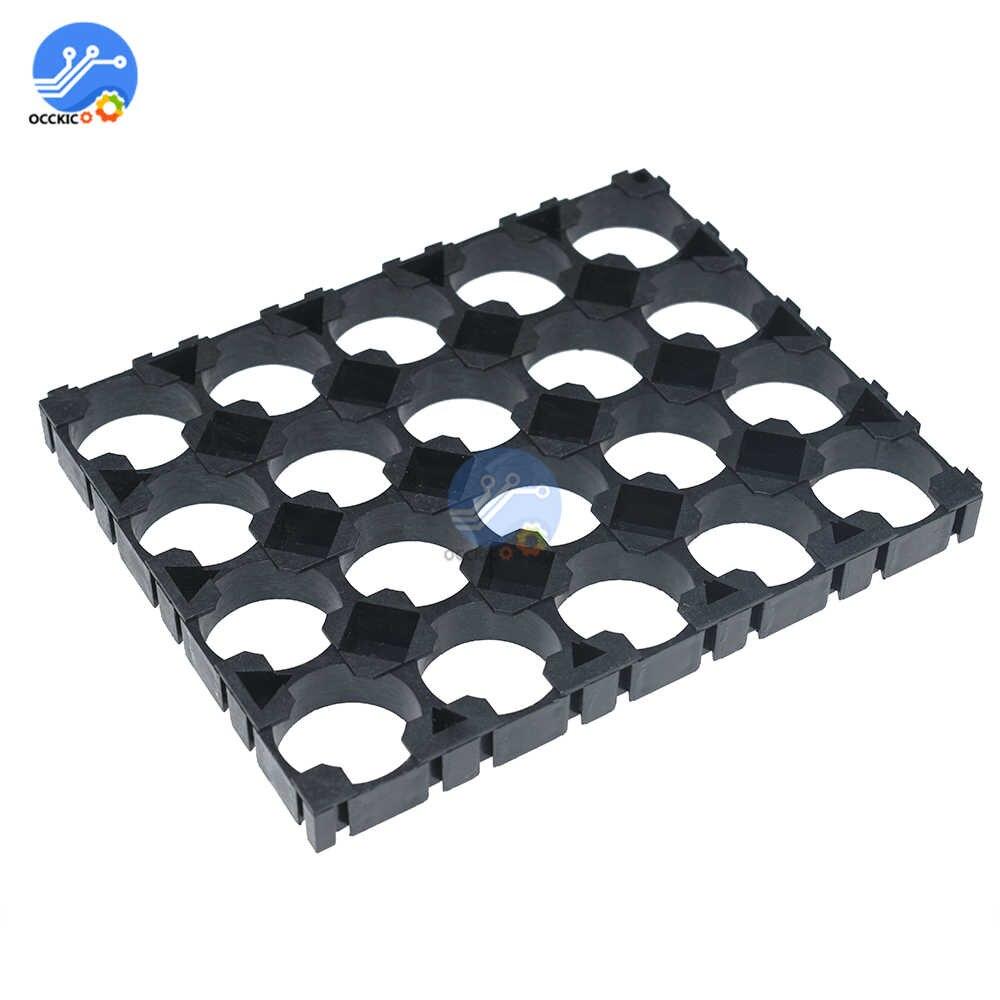 10*3x5 Cell 18650 Batteries Spacer Radiating Shell Plastic Heat Holder Bracket
