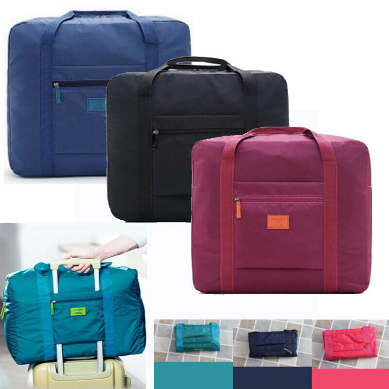 Carry-On-Organizer Duffle-Bag Luggage Hand-Shoulder Foldable Waterproof Big-Size title=