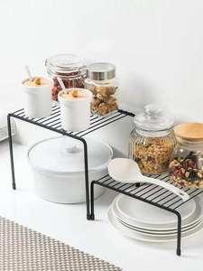 Storage-Shelf Wardrobe Closet-Organizer Kitchen-Rack Space-Saving Home