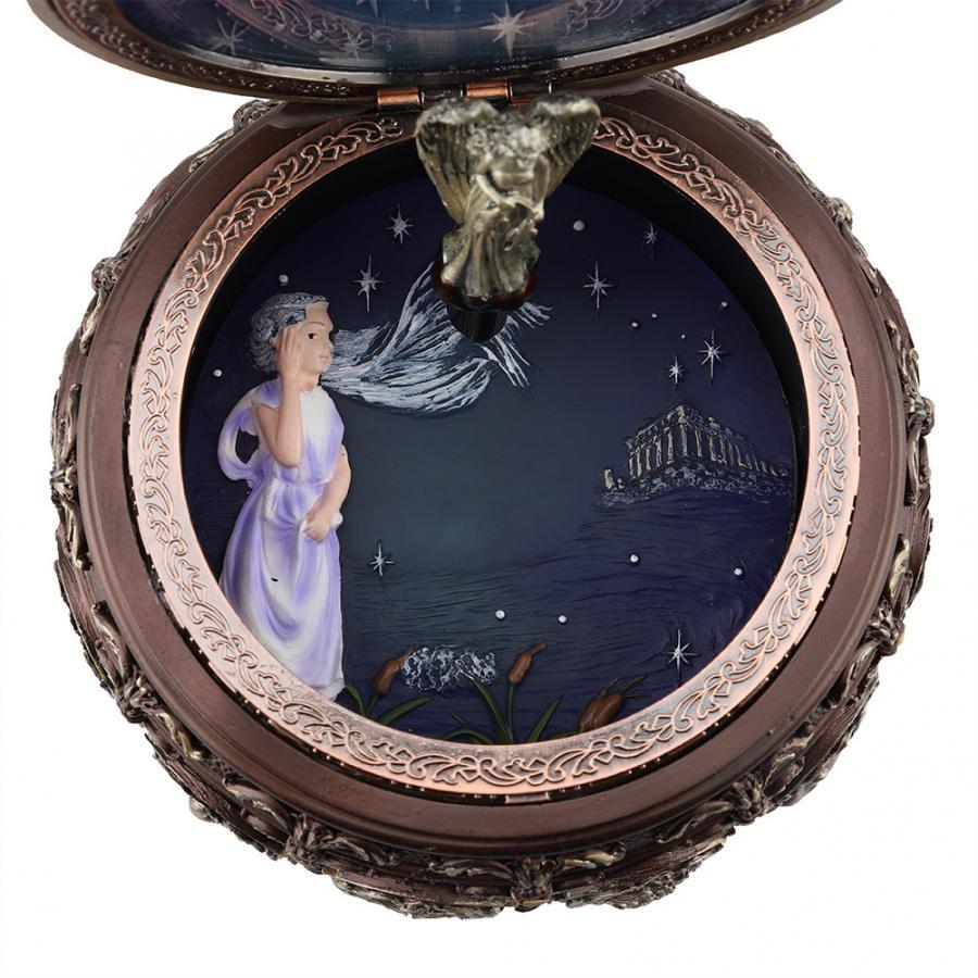 Vintage 12 Constellation LED Spieluhr Spiel /'/' Castle in the Sky /'/' Stier