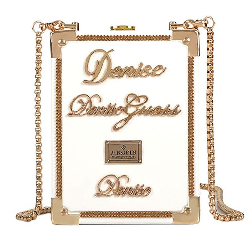 Leather Metal Perfume Bottle Crossbody Bag Womens Chain Mini Clutch Bag 2020 Women Handbag Fashion Party Girl Femme Evening Bags