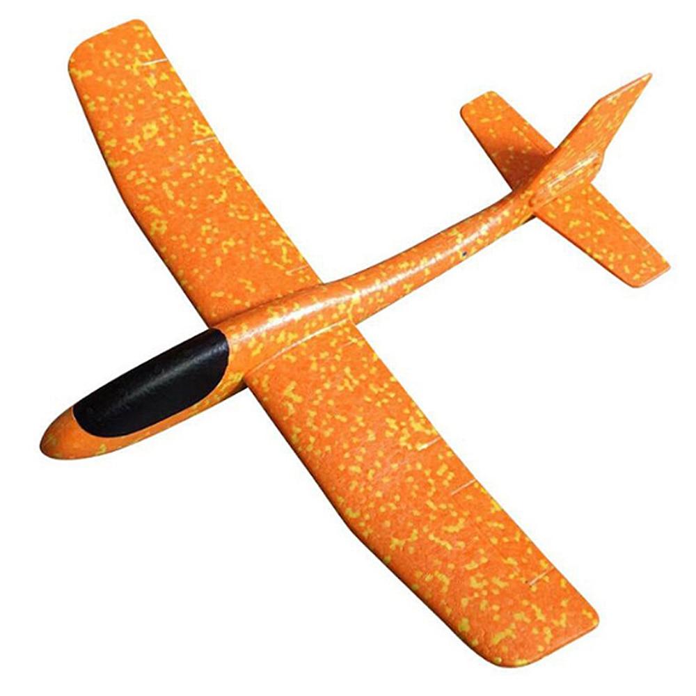 Model Airplane DIY Brain Game Educational Toy Aircraft Powered Glider Plane W