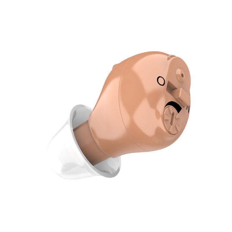 Hearing Aid Mini Digital Invisible 1 Pair Mini Digital Invisible Hearing Aid In-Ear Inner Voice Amplifier Sound Enhancer Ear Aid For The Deaf Elderly Deafness