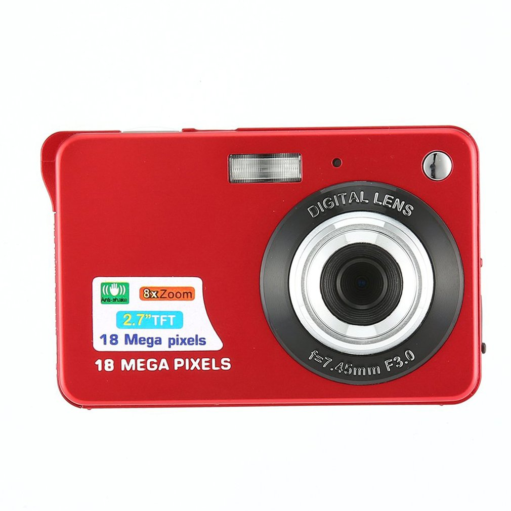 Digital-Camera Ultra-Thin Birthday 18-Mp Best-Gift title=