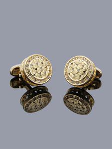 TOMYE Men's Cufflinks Jewelry French-Shirt Crystal High-Quality Luxury Gift Business