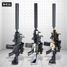 Toy-Gun Full-Water-Bomb-Gun Hand-In-One Electric M416 Eating Boy Burst 1707403 Chicken