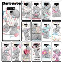 Babaite Tatty Teddy Me To You Bear чехол для телефона samsung Galaxy A50 S10 Plus Note9 Note8 7 10 Pro(China)